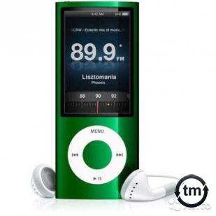 Apple iPod nano 5 8Gb Refurbished Green Купить Москва iPod