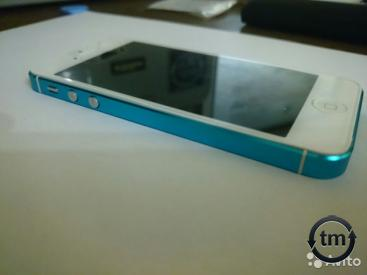 iPhone 5 16 Gb BlueWhite Купить Москва iPhone